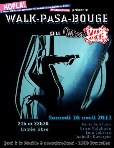 Poster Hopla Belgium 2011